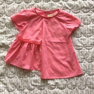 ZARA Girls | like-new trendy blouse 4-5t